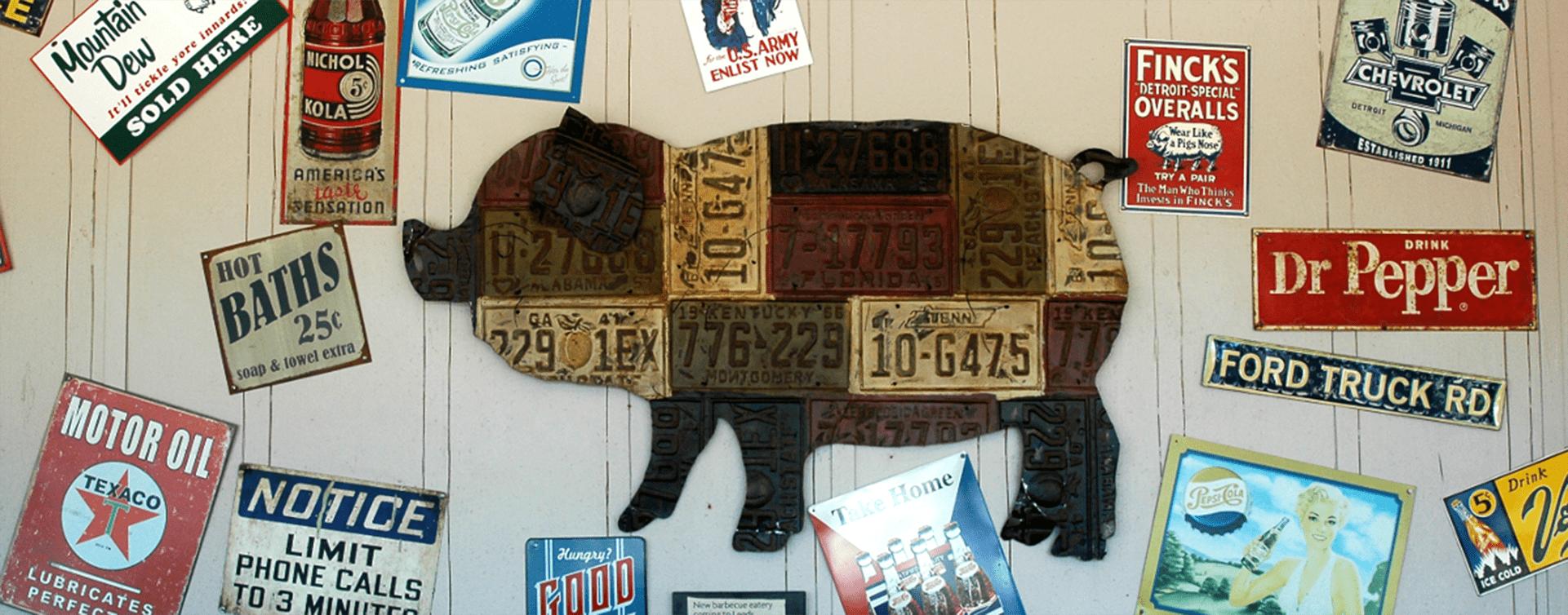 rustys bbq_pig_license_plates
