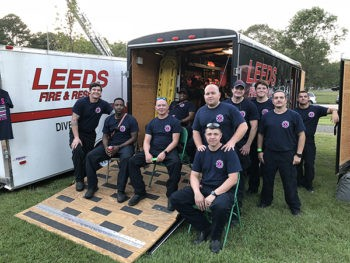 Leeds National Night Out a Huge Success |  Our Leeds First Responders (Fire and Police Departments) really outdid themselves last night to host the Leeds