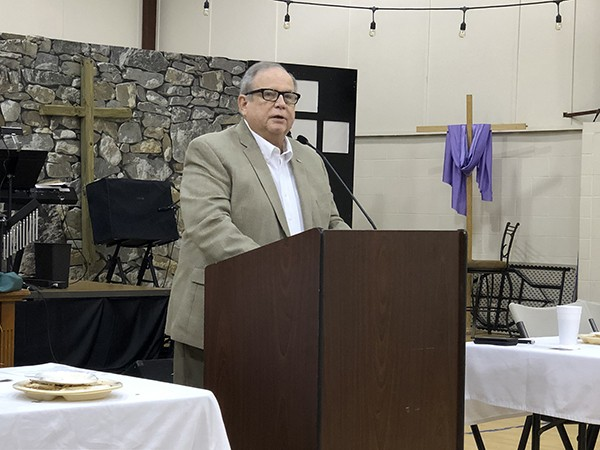 Mayor Gives State of the City at Chamber Luncheon | Mayor David Miller gave the State of the City address on Thursday at the Leeds Area Chamber of Commerce
