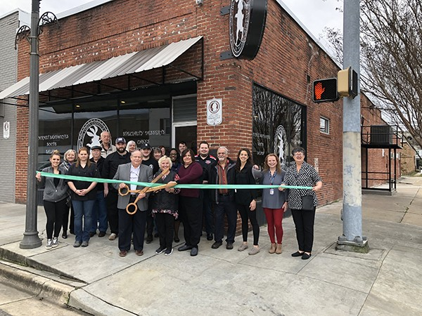 The City of Leeds welcomes the Three Earred Rabbit in historic downtown Leeds at 8101 Parkway Drive with owner, Christine Leonardi.  This is their second