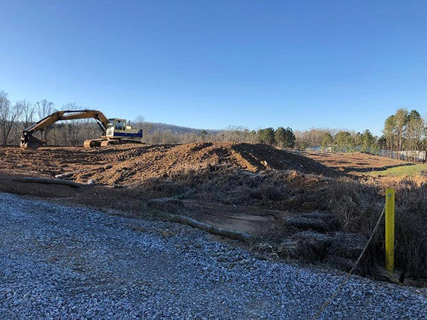ANOTHER NEW COMPANY COMING TO LEEDS: Brownlee-Morrow Company has broken ground on a new $5 million facility on Highway 78 to bring another 50-70 jobs
