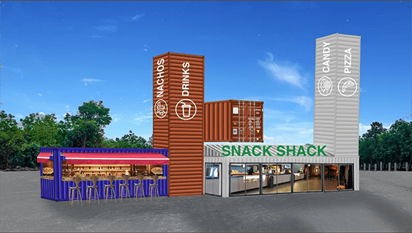 City of Leeds is very excited that the Grand River Drive-in will open Wednesday, July 3, 2019, just in time for the Fourth. The Backyard at Leeds is to