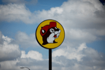 For The Washington Post  A sign for a Buc-ee's convenience store in Terrell, Texas, on July 13, 2019. MUST CREDIT: Photo for The Washington Post by Allison V. Smith