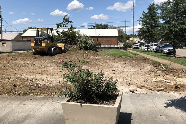 Downtown Leeds will soon have more parking available. Things are beginning to look a little different with construction is underway to create two new park