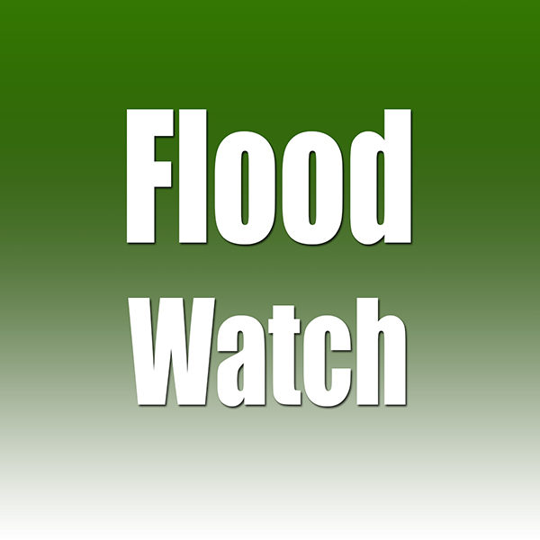 The NWS Birmingham has issued a Flood Watch for our area. There exist the possibility of flooding from noon on Thursday, January 2 - 6:00 PM on Friday, January 3. Those living in flood zones or areas subject to localized flooding should be taking action now to protect life and property. Those persons living along or near the Little Cahaba and at the Ann Ave Apartments are in areas where persons should take action.