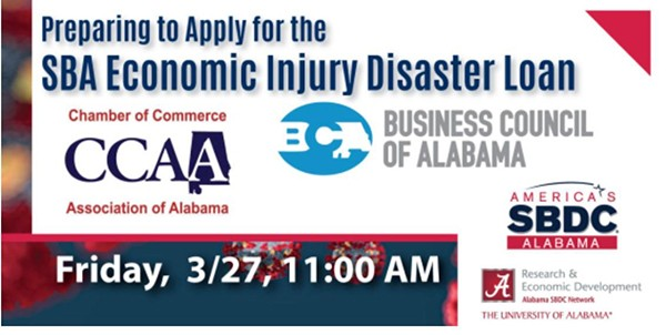 CCAA/BCA SBA Disaster Loan Webinar | On behalf of the CCAA/BCA Partnership please join us for a webinar on Friday, March 27th, at 11:00 am Preparing to