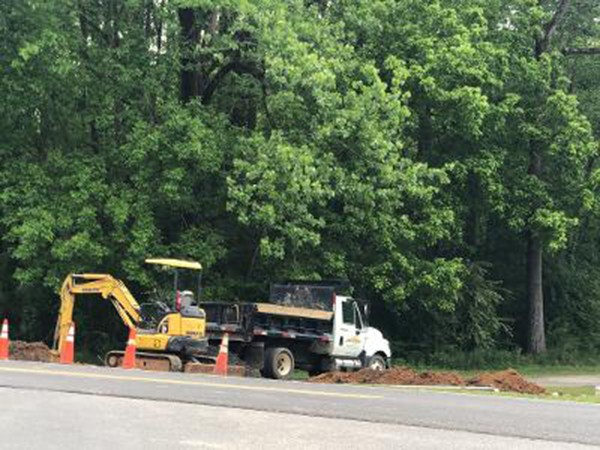Long awaited Hwy 119/President Street Traffic Signal Breaks Ground: After lengthy delays while details were worked out with ALDOT and Geo-technical studies