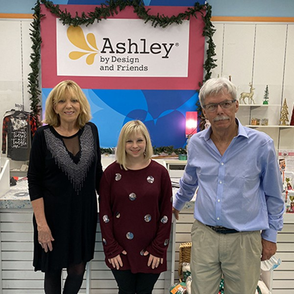 Welcome Ashley DeRamus and Ashley by Design. The City of Leeds and Leeds Area Chamber of Commerce conducted a ribbon cutting