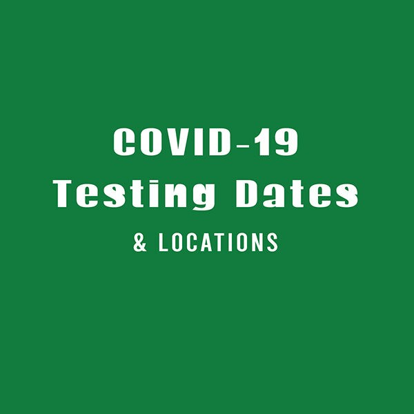 Information below contains December COVID-19 testing dates and locations for Jefferson County, Alabama. Good afternoon. Attached are testing