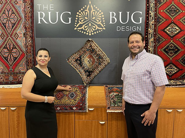 Welcome The Rug Bug Design to Leeds! The City of Leeds & the Leeds Area Chamber of Commerce cut the ribbon celebrating their opening at The