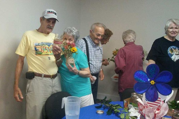 What a great two days we have had at the Senior Center. The winning prize for BINGO on Monday was a watermelon! All the losing BINGO cards were pea green with envy.