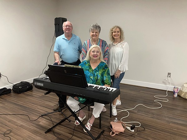 This past week we celebrated National Senior Citizens Day and our August Birthdays! Special appreciation and thanks to The Leeds Connection for providing our musical entertainment at the Birthday Party, and to the Three Earred Rabbit for catering. A good time was had by all.