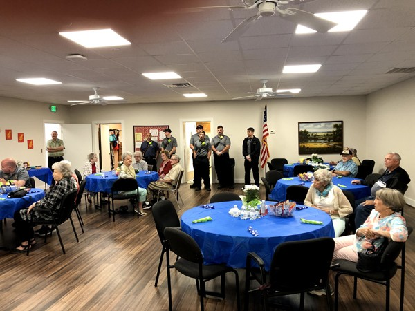 Leeds Senior Center Update September 24   This past week was great fun! We want to send a huge THANK YOU to our Leeds Fire Department