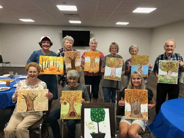 Check out the Leeds Senior Center Update October 1 |A new month, a new season, and a new addition to our weekly schedule. We are happy to have Karen Carroll joining us. An artist herself,